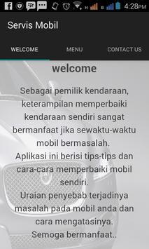 Memperbaiki Mobil poster