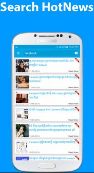 khmer hot news apk screenshot