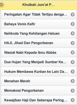Khutbah Jum'at Para Ulama apk screenshot