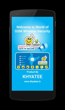 Khyatee GSM Security poster