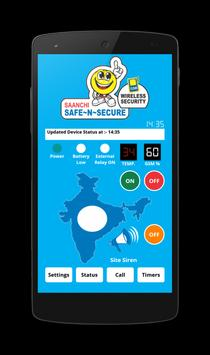 Khyatee GSM Security apk screenshot
