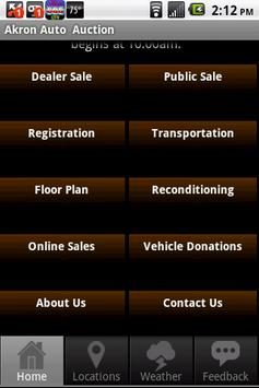 Akron Auto Auction apk screenshot