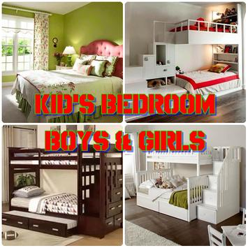 Kid's Bedroom Boys and Girls poster