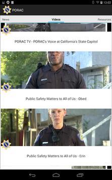 PORAC apk screenshot