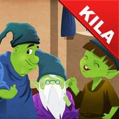 Kila: Three Little Men in Wood icon