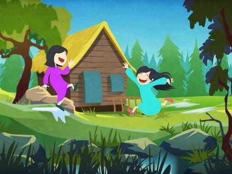 Kila: Three Little Men in Wood apk screenshot
