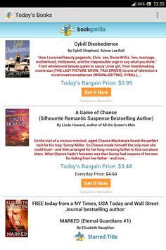 BookGorilla: Kindle Book Alert apk screenshot
