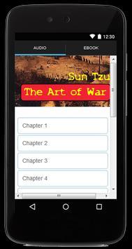The Art of War Audiobook poster