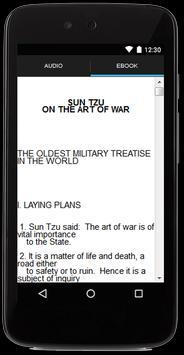 The Art of War Audiobook apk screenshot