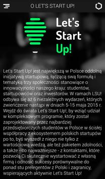 Let's Start Up! apk screenshot