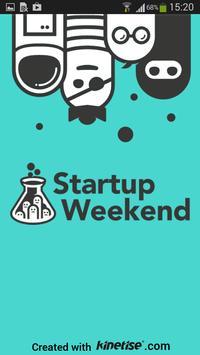 Startup Weekend Toruń poster