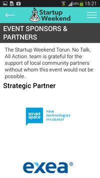 Startup Weekend Toruń apk screenshot