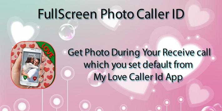 Love Theme Photo Caller ID poster