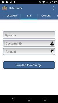 RechargesKing Business apk screenshot