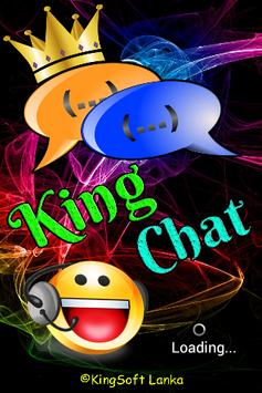 King Chat Bluetooth poster