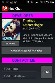King Chat Bluetooth apk screenshot