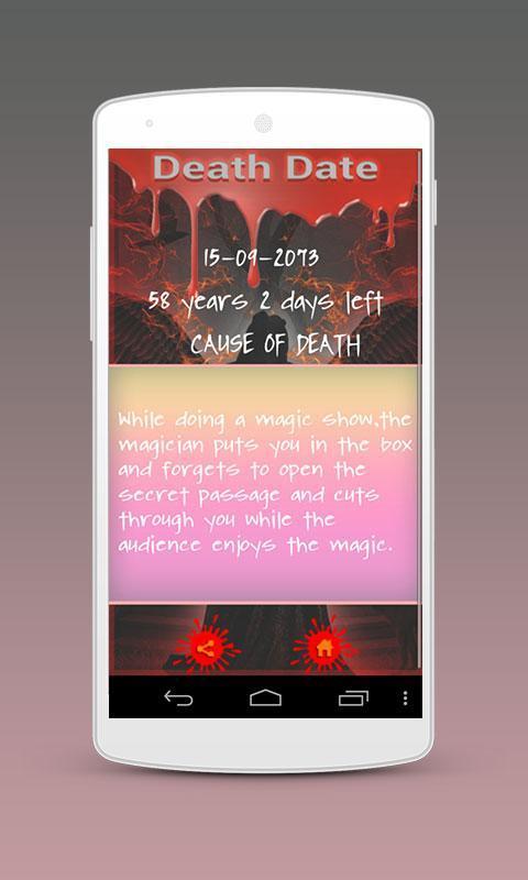 Death date calculator online in Sydney