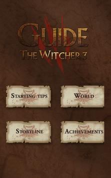Giude For The Witcher 3 New poster