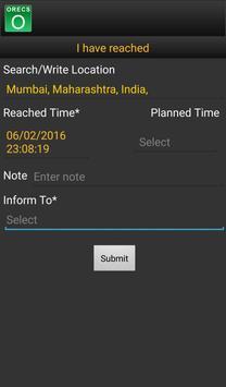 ORECS - Mobile Application apk screenshot