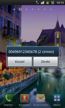 Kisstel Call by Call apk screenshot