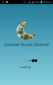 Qasidah Burda Shareef With mp3 poster