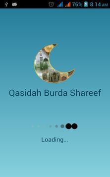 Qasidah Burda Shareef With mp3 apk screenshot