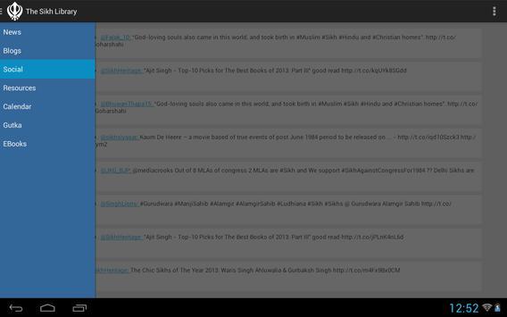 The Sikh Library apk screenshot