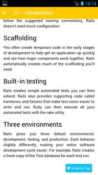 Ruby on Rails - Kiwi Lab apk screenshot