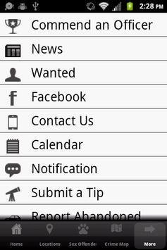 DeWitt County Sheriff's Office apk screenshot