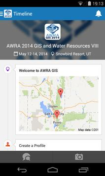 AWRA GIS Conference poster