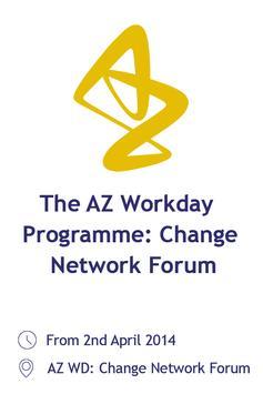 AZ WD Forum poster