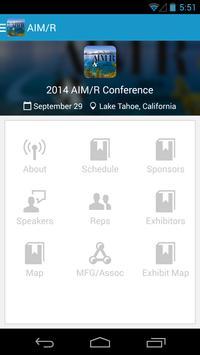 AIM/R poster