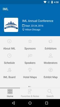IML Conference apk screenshot