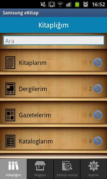 Samsung eKitap apk screenshot