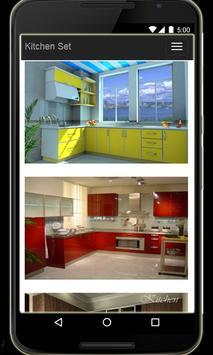 Kitchen Set poster