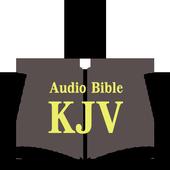 KJV Audio Bible Free icon