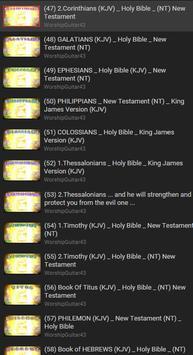 KJV Audio Bible Free poster