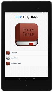 KJV Bible Offline poster