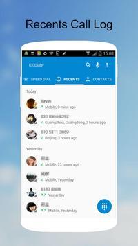 KK Phone (KK Dialer, Cool) apk screenshot