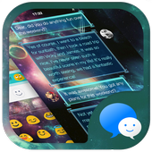 Galaxy War Messages Theme icon