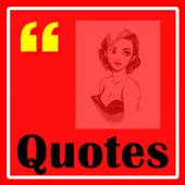 Quotes Audrey Hepburn icon
