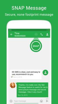 KK SMS - Cool & Best Messaging apk screenshot