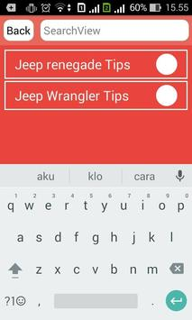 Jeep Vehicle Info and Review apk screenshot