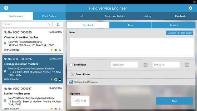 mFSE (Field Service Engg.) apk screenshot