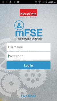 mFSE (Field Service Engg.) poster