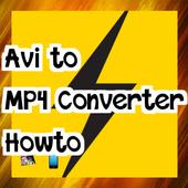 Avi to MP4 Converter Howto icon