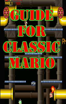 Guide for classic mario poster