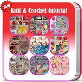Knit and Crochet tutorial icon