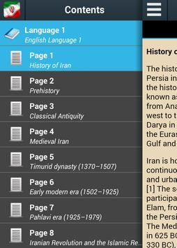 History of Iran poster