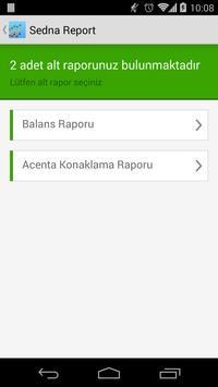 Sedna Report apk screenshot